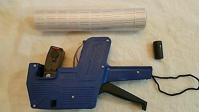 MX-5500 8 Digits Blue Price Tag Gun With Bonus 1000 Extra Labels