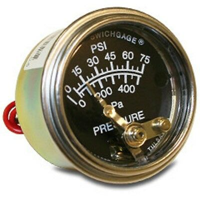 Murphy 20P-75 Swichgage® Pressure Gauge with Built-In Electrical Switch (NEW)