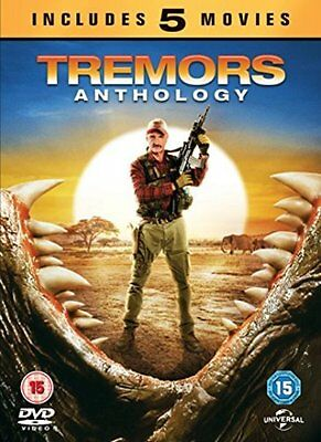 Tremors Anthology 1 2 3 4 5 Complete Collection Region 4 DVD New