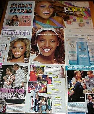 BEYONCE KNOWLES clippings #2 - Jay-Z, Destiny's Child singer #050814