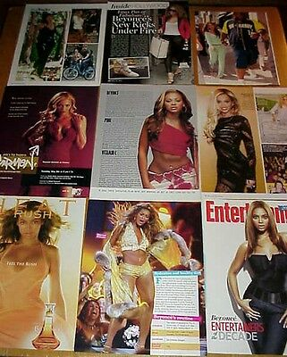 BEYONCE KNOWLES clippings #3 - Jay-Z, Destiny's Child singer #050814