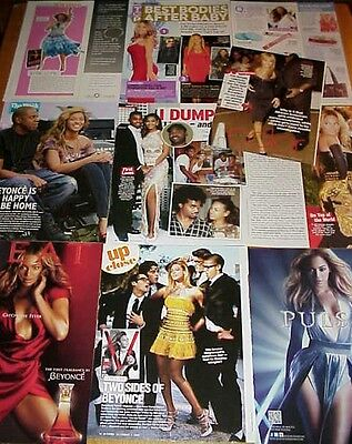 BEYONCE KNOWLES clippings #1 - Jay-Z, Destiny's Child singer #050814