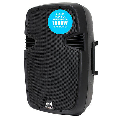 """PRO RS1500A 15"""" INCH Active 1600W 2-WAY PA CLUB LOUD SPEAKER FREE P&P* UK Stock"""