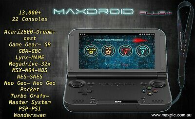 MaxDroid PLUS - Retro GPD XD Plus + Handheld Console By MaxPie Gaming Pi!!!