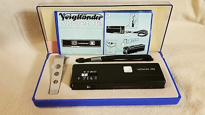 Vintage Voigtlander Vitoret 110 Film Camera 1976 Original Box 6886427