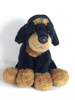 ROTTWEILER  by RUSS Plush - Classic Brown Puppy Dog - Luv Stuffed Animal 5""