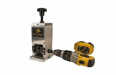 Wire Stripping Machine Copper Steel Dragon Tools WRA15 Benchtop Automatic