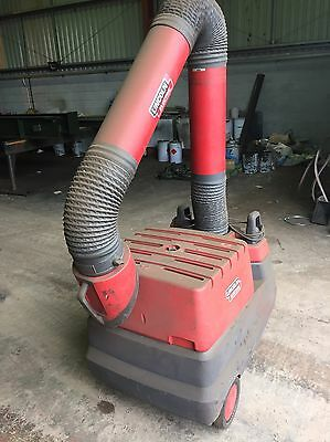 Lincoln Electric Welding Mig Tig Arc Mma Fume Dust Extractor 110V