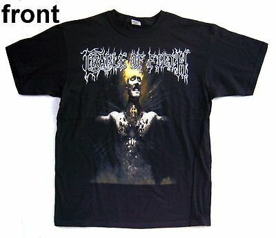 Cradle Of Filth! Shat Out Of Hell Blk S/s Shirt L New