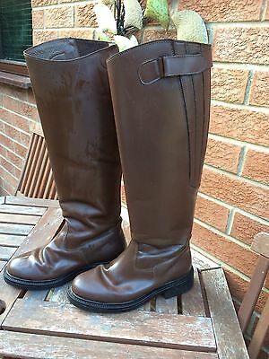 Brown leather Riding Boots Size 6