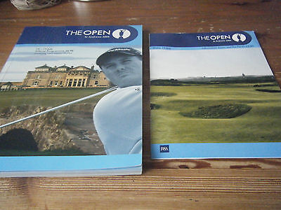 2005  British Open Golf Programme & Friday Tee Time Sheet - St Andrews