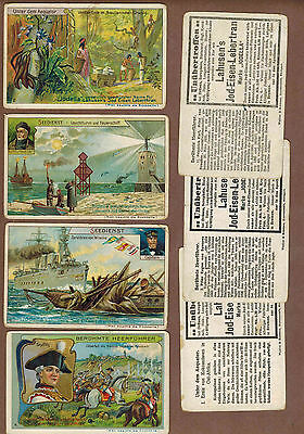 TYPE CARDS: Collection of Rare Victorian LAHUSEN'S JODELLA Trade Cards (1900)A