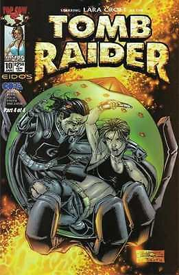 Tomb Raider: The Series #10 in Near Mint condition. FREE bag/board
