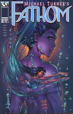 Fathom (1998 series) #2 in Near Mint condition. FREE bag/board