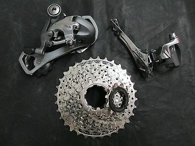 Shimano Tiagra Derailleur/Front and Rear/HG Cassette