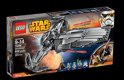 Lego Star Wars Sith Infiltrator 75096. Retired Set. Still Sealed. Immaculate.
