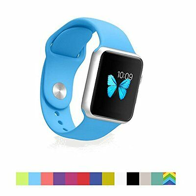CLEAR SKY BLUE Wristband Band Strap Accessories For iWatch 38MM APPLE WATCH