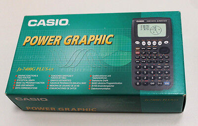 Casio Power Graphic Fx-7400g Plus-gy Scientific Graphical Calculator - Brand New