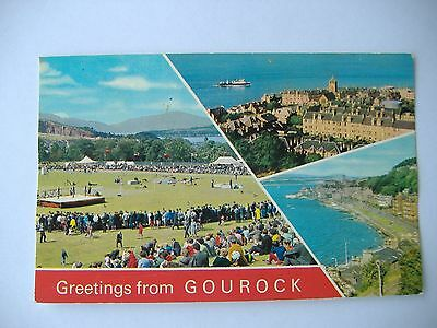 Old Postcard - Gourock - 1989