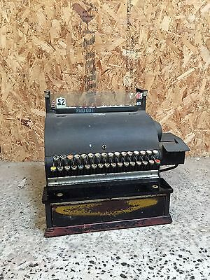 Vintage Antique Original National Cash Register Till Circa 1920s