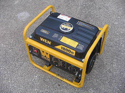 Wen 1500 Watts Run 1800 Watts Start Generator