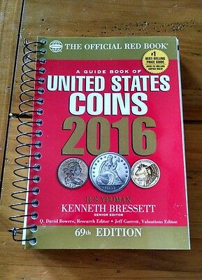 2016 Red Book - A Guide Book of United States Coins;  Spiral bound edition