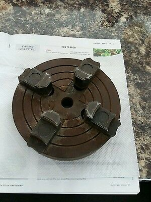 4 jaw independent wood lathe chuck