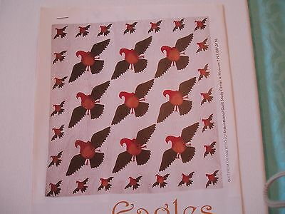 Flying Eagles Quilt Pattern from Magazine