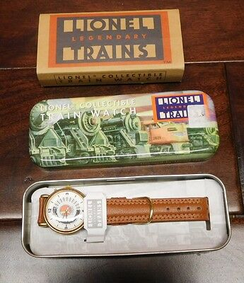 Lionel Collectible train watch with Collectible Tin NEW OLD STOCK NEVER USED