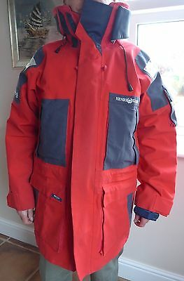 Henri Lloyd Ocean Offshore sailing Jacket Red – size L Used