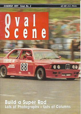Oval Scene.  Stock Cars. Hot Rods.  Magazine. Issue 2