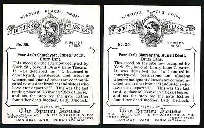 HILL Historic Places from Dicken's Classics Error & Variety Pair No.20