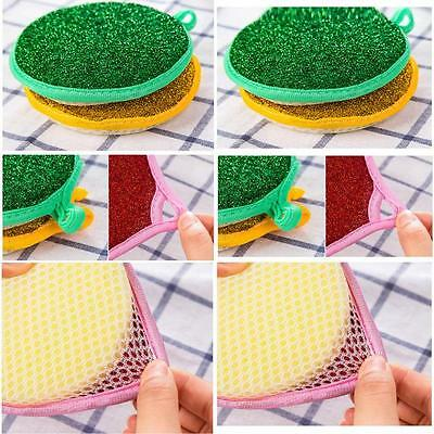 Double-sided Magic Foam Sponge Brush Multi-functional Home Cleaning Cleaner Pad