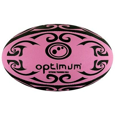 Optimum PINK Tribal RUGBY BALL size 5 training
