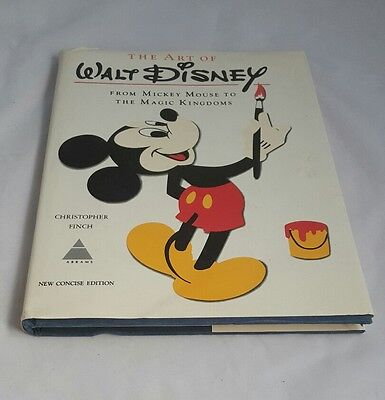 1975 Christopher Finch The Art Of Walt Disney Mickey Mouse To The Magic Kingdoms