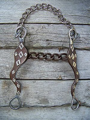 Bit - Antique Diamond Roping with Chain
