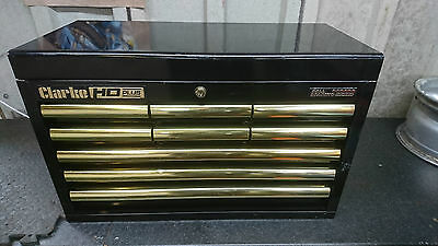 HD Gold series 9 drawer Tool Chest Top Box by Clarke