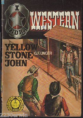 INDRA (RODEO) WESTERN 1002 / G.F.Unger / (1970-1973 Indra-Verlag)