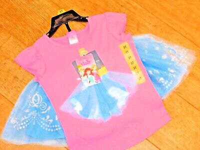 Disney Frozen Girls Tutu Skirt & t shirt Set Glitter/lace detail FANTASTIC BNWT