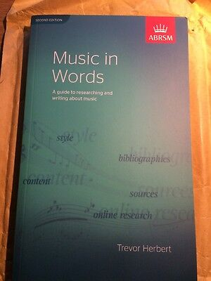 ABRSM Music In Words. Second Edition
