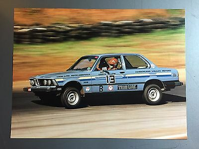 1981 BMW 320is Coupe Race Car Print, Picture, Poster RARE!! Awesome L@@K