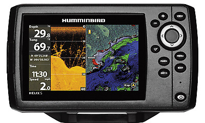 humminbird helix 5 chirp di gps g2 /410220-1 • $332.49 - picclick, Fish Finder