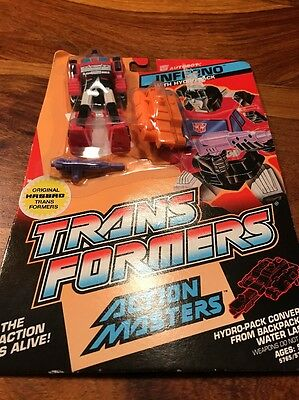 Transformers Action Masters Inferno with Hydro pack