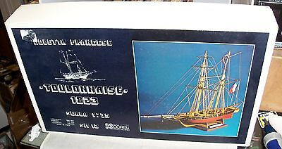 1:75 Corel Sm12 Toulonnaise 1823 Museum Quality Wood Model Ship Kit