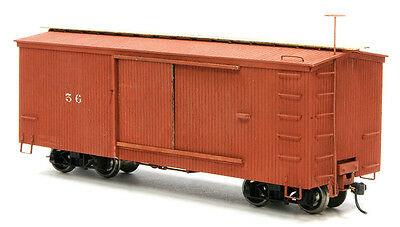 "On30 Boxcar Conversion Kit, fits Bachmann 24"" flat car."
