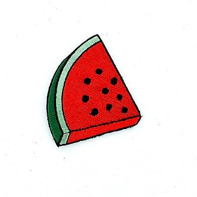 Patch patches embroidered iron on backpack biker pizza watermelon badge