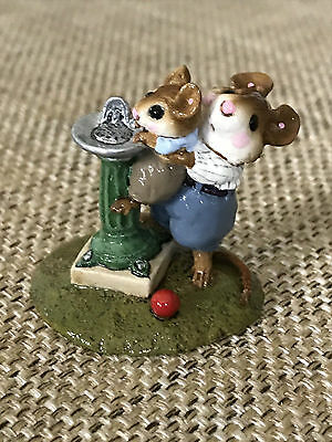 Wee Forest Folk - WFF Little Squirt Retired Signed w/ Full Signature
