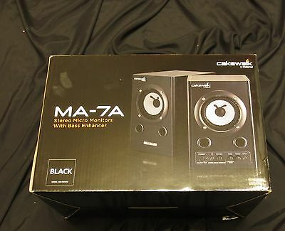 Cakewalk by Roland MA-7A Stereo Micro monitors - BOXED -