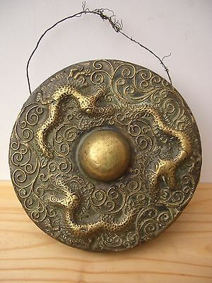 An Original 19th c. Brunei Cast Brass 'Tawak-Tawak' Gong