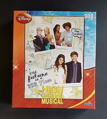 """Disney High School Musical Puzzle 300 Pieces - New - For ages 6+ (9"""" X 13"""")"""